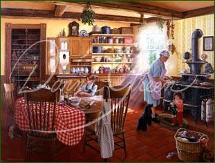 Limited Edition Print Grandma S Kitchen